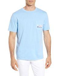 Vineyard Vines - Tie Guys Plate Regular Fit Crewneck T-shirt - Lyst
