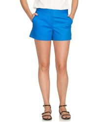 Cece by Cynthia Steffe - Stretch Cotton Shorts - Lyst