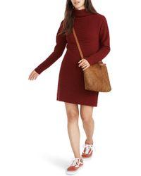 Madewell - Skyscraper Merino Wool Sweater Dress - Lyst