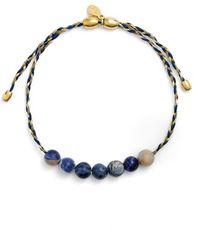 ALEX AND ANI - 'earth Precious' Thread Bracelet - Lyst