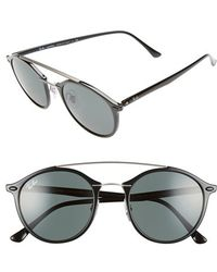 ray ban retro round sunglasses nordstrom 1828a6d8a