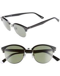 fecc6d80d87ab Lyst - Tom Ford Ft0378 Sunglasses Shiny Light Ruthenium   Green in Green