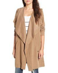 RVCA | 'drape Me A River' Hooded Jacket | Lyst