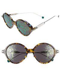 Dior - Umbrage 52mm Round Sunglasses - Lyst