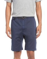 Surfside Supply - D-ring Belted Washed Chino Shorts - Lyst