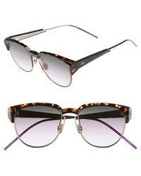 Dior - Spectral 53mm Sunglasses - Havana/ Pink - Lyst