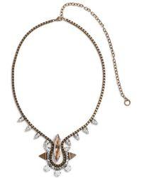Lionette - 'gizele' Jewel Pendant Necklace - Lyst