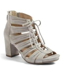 Earthies - Earthies Saletto Caged Sandal - Lyst
