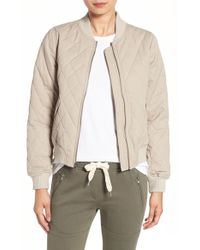 Sincerely Jules - Quilted Bomber Jacket - Lyst