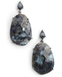 Nakamol - Faceted Stone Earrings - Lyst
