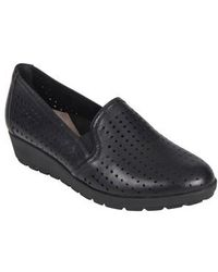Earth - Earth Juniper Perforated Slip-on Wedge - Lyst
