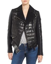 Rudsak - Quilted Leather Jacket - Lyst