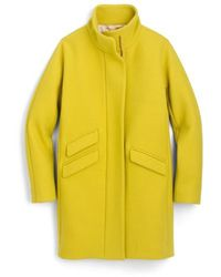 J.Crew | Stadium Cloth Cocoon Coat | Lyst