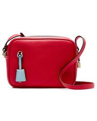 J.Crew | 'Signet' Leather Crossbody Bag | Lyst