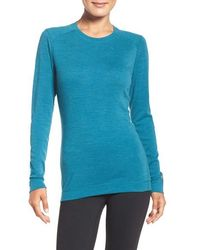 Smartwool - Crew-Neck Wool T-Shirt - Lyst