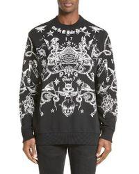 Givenchy - Tattoo Sweatshirt - Lyst
