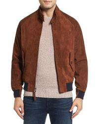 Lanai Collection - Goatskin Suede Pilot Jacket - Lyst