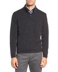 Ledbury - The Brewer Mock Neck Merino Wool Sweater - Lyst