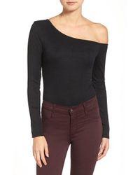 Trouvé - One-shoulder Bodysuit - Lyst