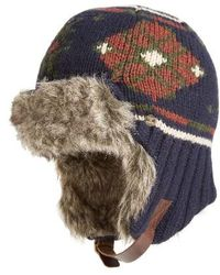 Bickley + Mitchell - Faux Fur Trapper Hat - Lyst
