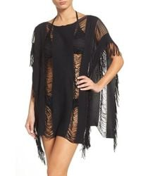 Maaji - Coconut Flavor Cover-up Poncho - Lyst