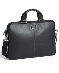 Boconi - 'tyler' Leather Laptop Briefcase - - Lyst