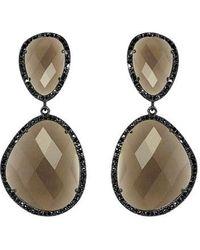 Susan Hanover - Semiprecious Stone Drop Earrings - Lyst