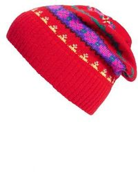 J.Crew | Holly Fair Isle Wool Hat | Lyst