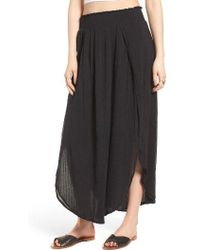 Rip Curl - Sun Gypsy Maxi Skirt - Lyst