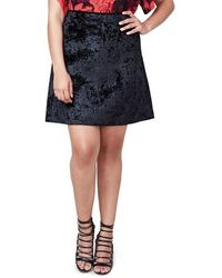Rachel Roy - Welt Pocket A-line Skirt - Lyst