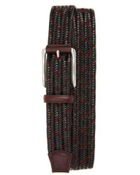 Torino Leather Company - Woven Mixed Media Belt - Lyst
