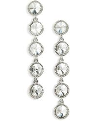 Ted Baker - Rizza Crystal Drop Earrings - Lyst
