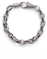 Konstantino   Semiprecious Stone Link Bracelet   Lyst