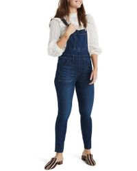 Madewell - Eco Edition Skinny Overalls - Lyst