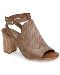 Miz Mooz - Shiloh Block Heel Sandal - Lyst
