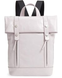 Treasure & Bond - Remy Glazed Leather Backpack - - Lyst