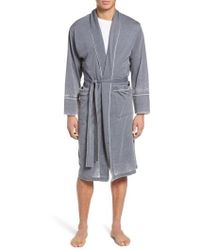 Daniel Buchler - Burnout Cotton Blend Robe - Lyst