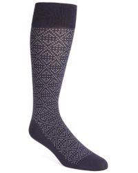 Calibrate - Plaited Triangle Socks - Lyst