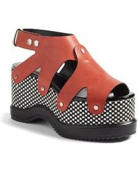 Proenza Schouler - Platform Wedge Sandal - Lyst