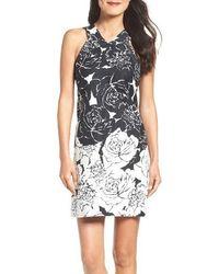 Taylor Dresses - Print Sheath Dress - Lyst