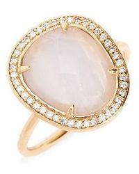 Melanie Auld - Stone Ring - Lyst