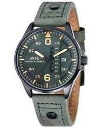 AVI-8 - Hawker Harrier Ii Leather Strap Watch - Lyst