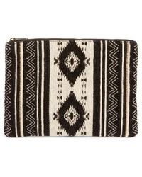 Amuse Society | Monteray Woven Clutch | Lyst