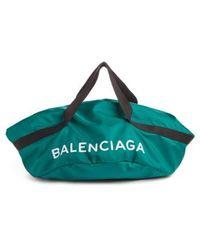 Balenciaga - Small Wheel Logo Bag - Lyst