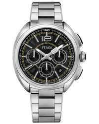 shop men s fendi watches from 500 lyst fendi momento chronograph bracelet watch lyst
