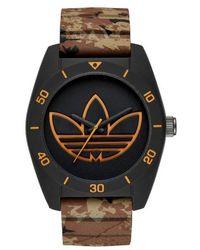 Adidas Originals | 'santiago' Polyurethane Strap Watch | Lyst