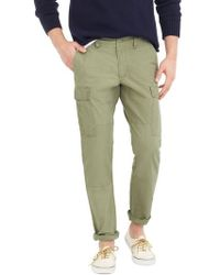 J.Crew | J.crew 770 Straight Fit Ripstop Cargo Trousers | Lyst