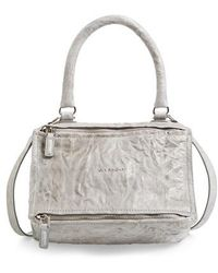 Givenchy   'small Pepe Pandora' Leather Shoulder Bag   Lyst