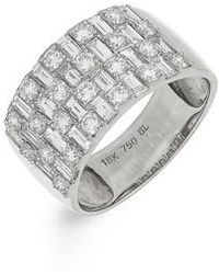 Bony Levy - Multi Row Diamond Band Ring (nordstrom Exclusive) - Lyst