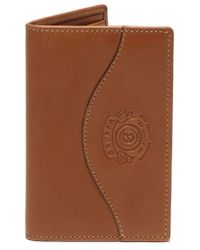 Ghurka - Ghukra Folding Leather Card Case - Lyst